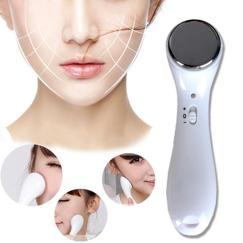 Ultrasonic facial massage