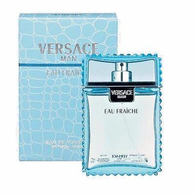 VERSACE MAN Perfume EAU FRAICHE 3.3 / 3.4 oz 100 ml NEW IN BOX SEALED