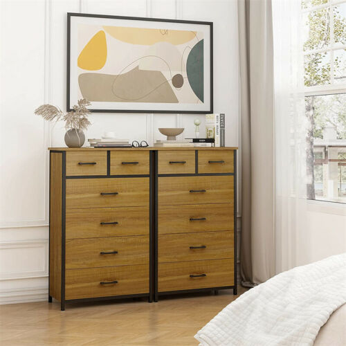 Used Chest Of Drawers Beside Dresser For Bedroom 6 Drawer Save Space