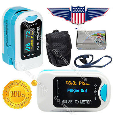 New Oled Fingertip Oxymeter Spo2pr Monitor Blood Oxygen Pulse Oximeter50na