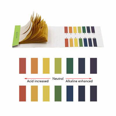 Full Range Litmus Test Paper Strips Tester Indicator 80-800 Ph 1-14 Universal