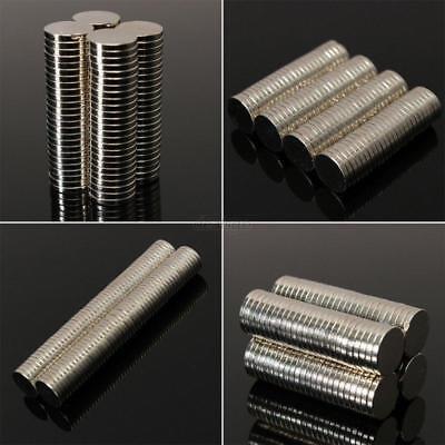 50 100 Pcs Round Disc Magnets Rare Earth Neodymium Magnet N50 N48 N42 All Size