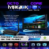MagickBox X8 Octa-Core Android Tv  ! 16GB Storage ! Android 5.1