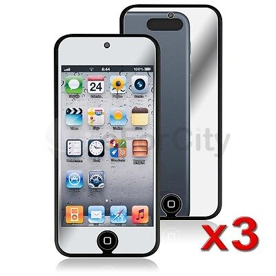 3x Mirror LCD Screen Protector Guard Film Cover For iPod Touch 5 5G 5th Gen on Rummage