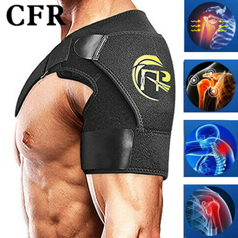 1PC Left/Right Adjustable Shoulder Support Brace Strap Thera