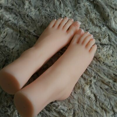 Realistic Silicone Female Women Feet Model Foot Mannequin Photography Art