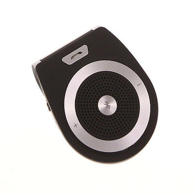 Stereo Bass Wireless Bluetooth Car Kit Speaker Handfree For Apple Sony Samsung