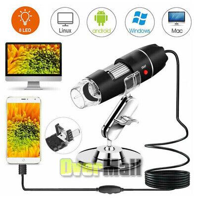 50x-500x Zoom Led Digital Microscope Camera Handheld Usb Magnification Endoscope