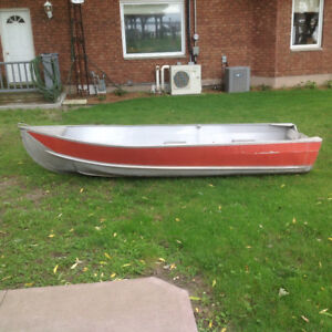 12' Tin Boat For Sale