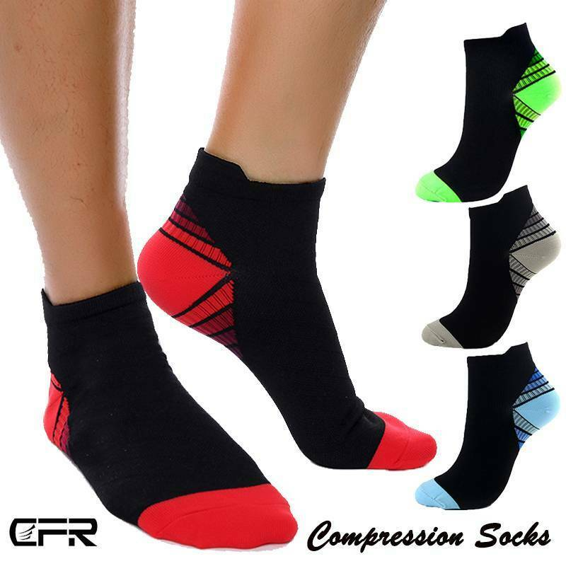 COPPER Compression Sock Arch Ankle Support Brace For Plantar