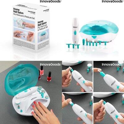Set manicura y pedicura profesional,secador esmalte,pulidor uñas electrico,etc