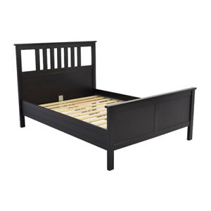 Queen bed set with foam mattress and box clean mattress /bed