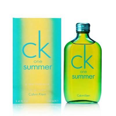 Ck One Summer By Calvin Klein For Unisex 3 4 Oz Edt Spray 2014 Limited Edition