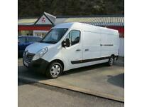 Renault Master 2.3dCi LM35 125 Business+ Long Wheel Base Van Air Con Low Mileage