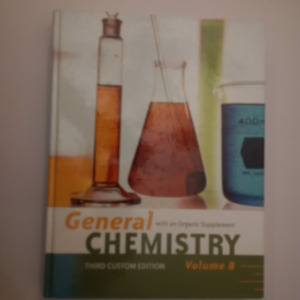General Chemistry with an Organic Supplement, Volume B
