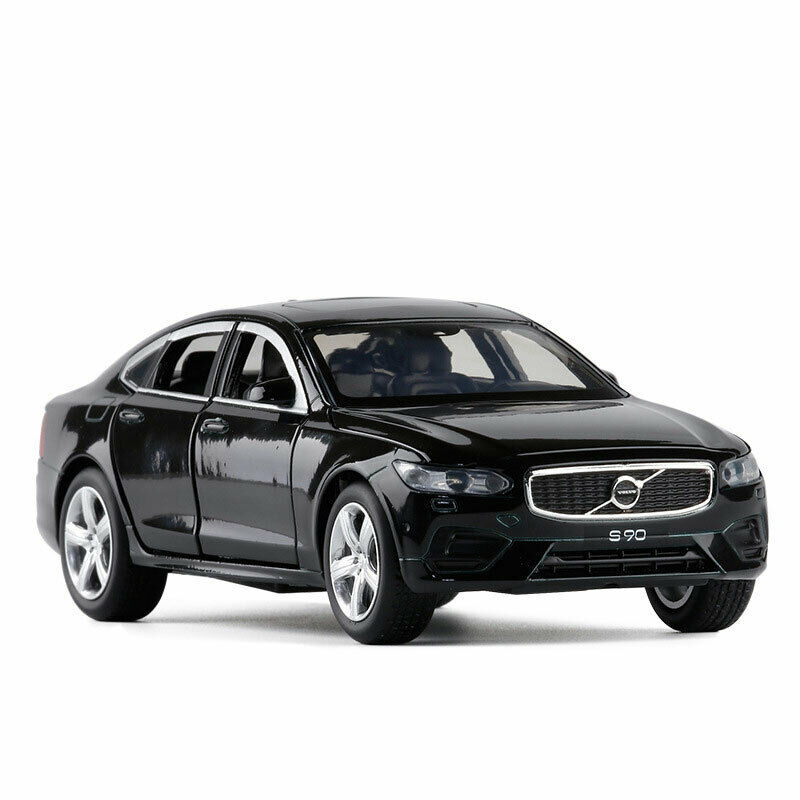 1//32 Scale S90 2019 Model Car Diecast Toy Vehicle Pull Back Kids Sound /& Light