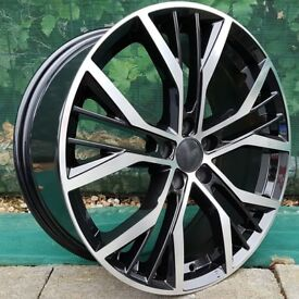 "18"" San Diego Style Alloys Wheels and tyres"