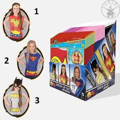 Marvel DC Girls Dress up Kostüm 3-6 J. Supergirl Batgirl Wonder Woman (Girls Batgirl Kostüm)