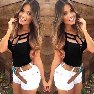 Sexy-Chaleco-de-verano-de-las-mujeres-Top-blusa-sin-mangas-Casual-Tank-Tops