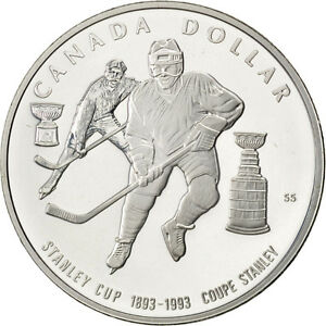 Stanley Cup's 100th anniversary Coin, 92,5% silver : 25$