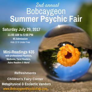 Bobcaygeon's 2nd Annual Summer Psychic Fair