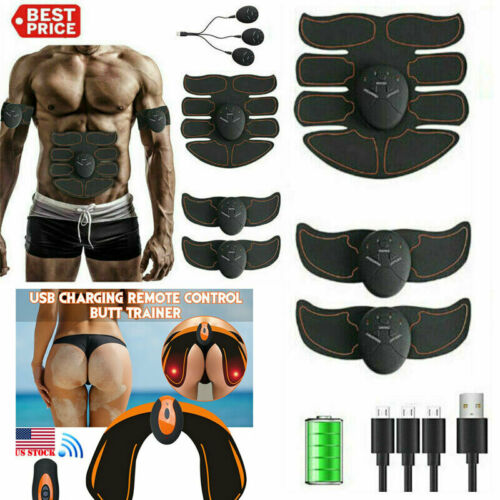 Smart EMS Hip Trainer Electric Muscle Stimulator Wireless Bu