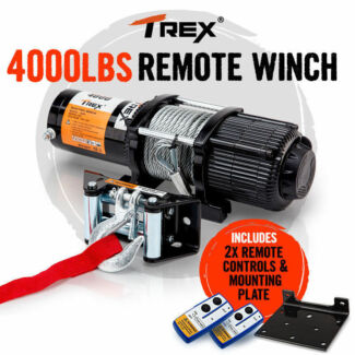 12V 4000lbs/1814kg Wireless Electric Winch ATV Quad 4wd Seven Hills Blacktown Area Preview