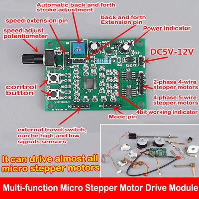 Dc 5v-12v 2-phase4-phase Mini Dc Stepper Motor Driver Speed Controller Board