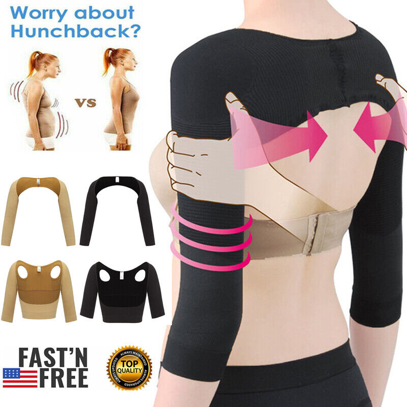 Women Upper Arm Shaper Back Posture Corrector Slimming Weigh