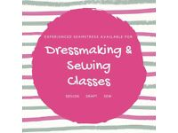 EXPERIENCED SEAMSTRESS and DESIGNER AVAILABLE FOR SEWING CLASSES OR PIECE WORK