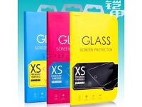 100% Genuine Tempered Glass Film Screen Protector For Iphone Samsung HTC Nokia All Models -Wholesale