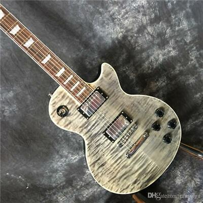 Best 6 string Electric Guitar Mahogany Body Black Tiger Print Free