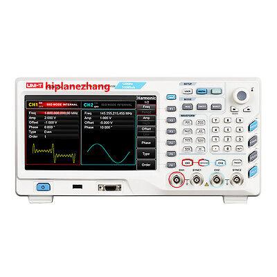120mhz Signal Function Arbitrary Waveform Generator 500mss 8tftlcd 32mpts Usb