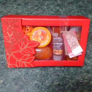 NEW Condition - The Body Shop Satsuma Bath Set