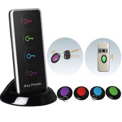 LED Wireless Keyfinder Funk Schlüsselfinder 40 Meter mit 4pcs Empfänger NEU DE gebraucht kaufen  Deutschland