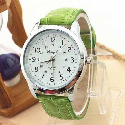 Fad Luxury Mens Watch Womens Business Watch Analog Leather Quartz Wrist Watch #5