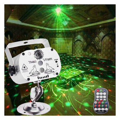 60 Pattern Projector Stage Light LED RGB Laser Party KTV DJ Disco Lighting Club
