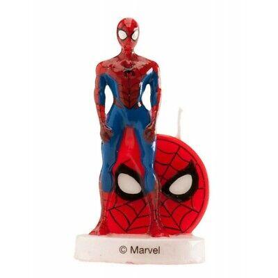 candela per torta compleanno spiderman