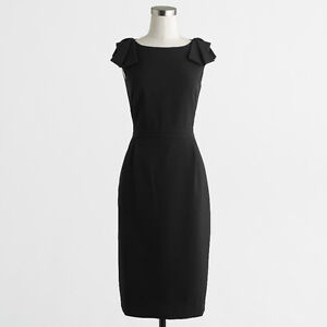 NEW WITH TAGS - J Crew Flutter Sleeve Dress - XS