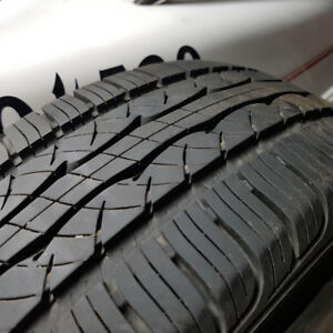 KUMHO unmounted M&S tires. Two at P185/65R14 - Great Shape