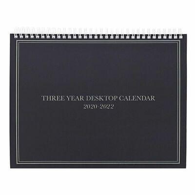 3-year Calendar Planner 2020-2022 Monthly Schedule Organizer 11.2x9 Black