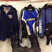 Yamaha/Apex/Nytro Bags and clothing