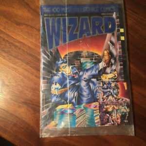 1993 Wizard FIRST EDITION 100 Most Collectible Comics SEALED