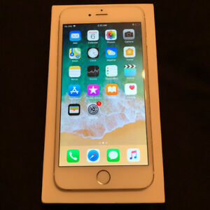 IPHONE 6 PLUS GOLD 64 GB ***GREAT CONDITION*** + 8 CASES