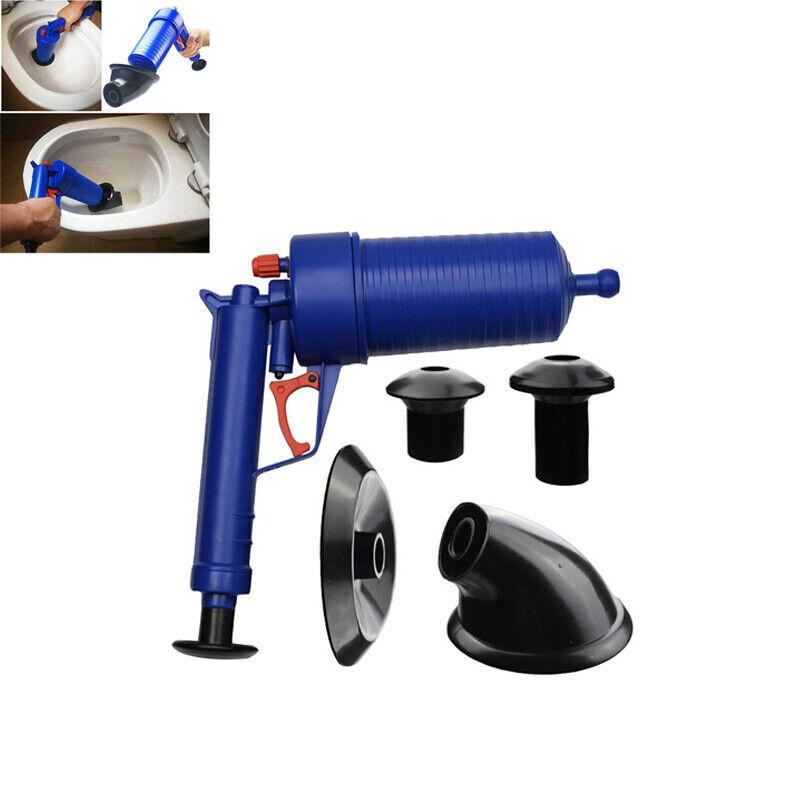 Air Power Drain Blaster Gun High Pressure Powerful Manual Si
