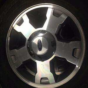 "Ford aluminum stock 18"" rims"