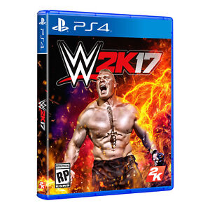WWE 2K17 and Carmageddon Max Damage for PS4 new condition