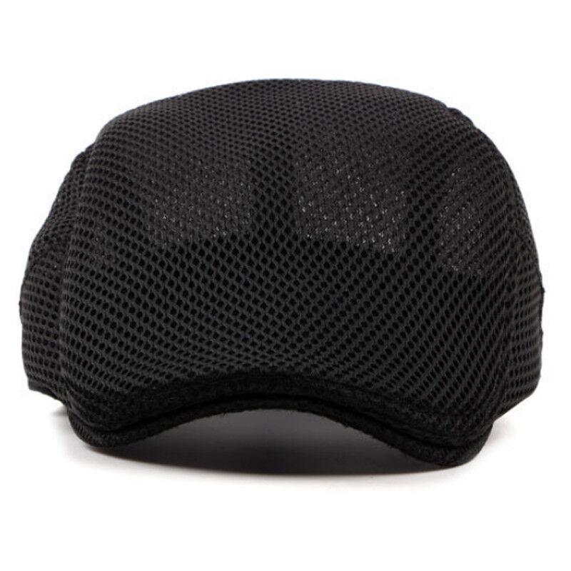 860589e9 Summer Men Newsboy Ivy Gatsby Cap Hat Mesh Cabbie Golf Driving Sun Flat  Beret · $5.88 · Hats