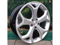 "18"" ST2 Style alloys wheels on tyres will fit Focus Mondeo Transit connect Etc"