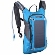 Solar Power Backpack Nylon 2.5L Water Bladder Wakerley Brisbane South East Preview